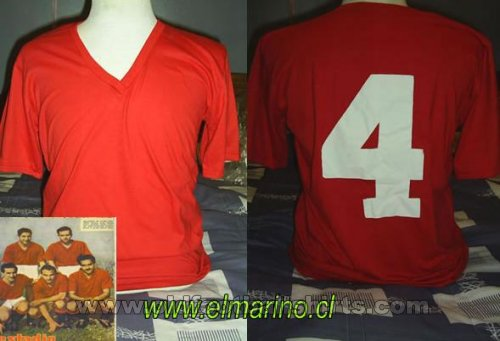 Union Espanola Home football shirt 1940