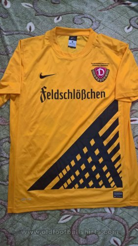Dynamo Dresden Home football shirt 2014 - 2015