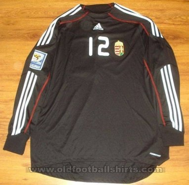 Hungary Goalkeeper Maillot de foot 2008 - 2010
