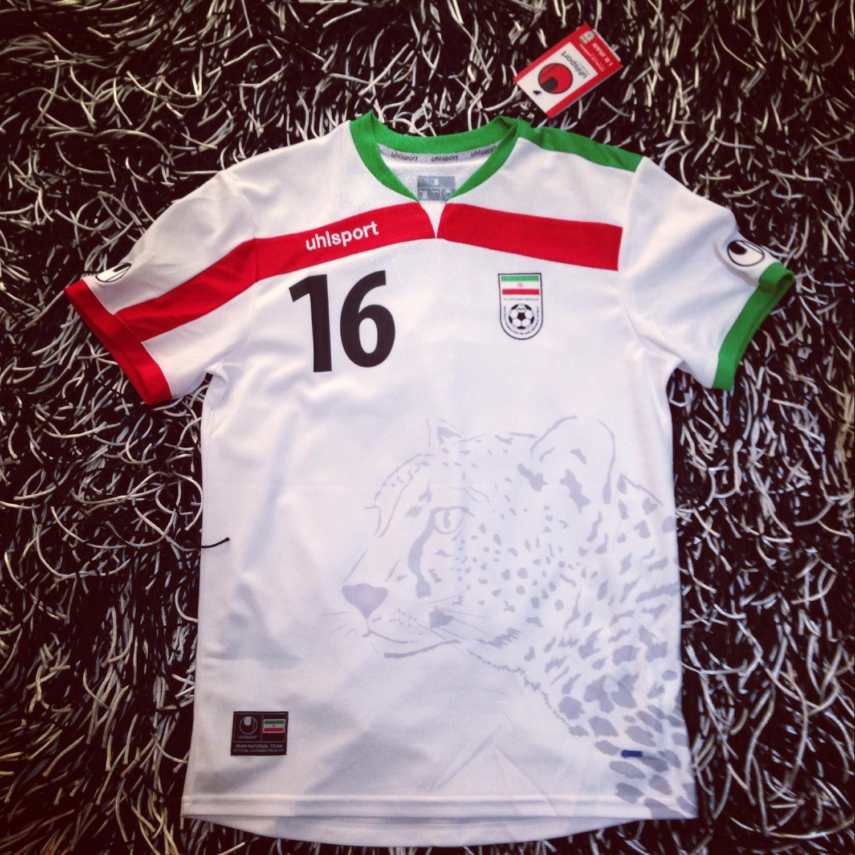 Iran Home Maillot de foot 2014 - 2016. b6f445df9