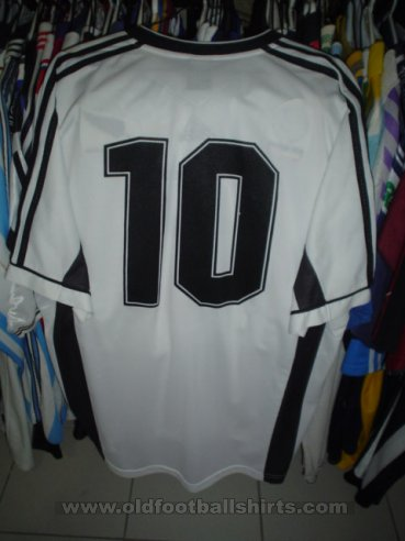 New Zealand Home football shirt 1999 - ?
