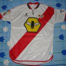 Rayo Vallecano football shirt 2001 - 2002