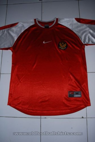 Indonesia Home Maillot de foot 2002