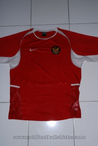 Indonesia Home Fußball-Trikots 2003 - 2005