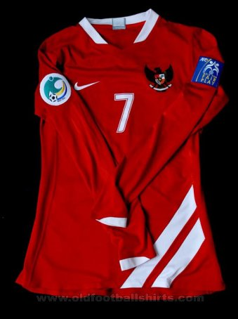 Indonesia Home Maillot de foot 2007 - 2008
