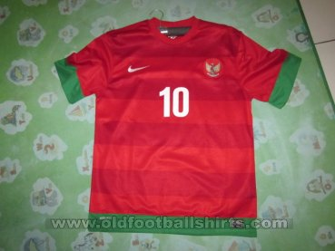 Indonesia Home football shirt 2012 - 2014