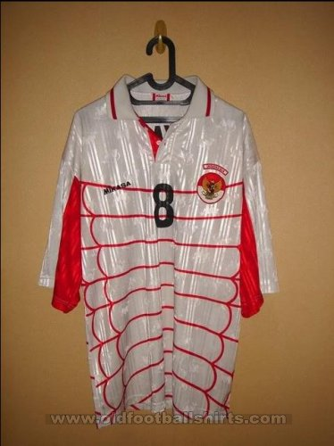 Indonesia Maillot de coupe Maillot de foot 1997