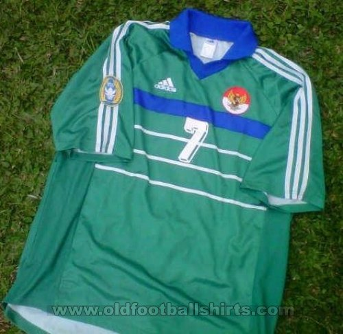 Indonesia Away football shirt 2000 - 2002