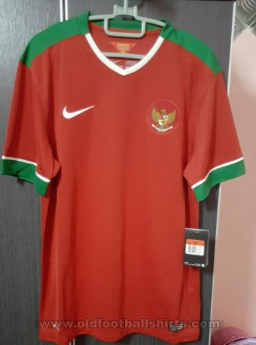 Indonesia Home Maillot de foot 2014 - 2016