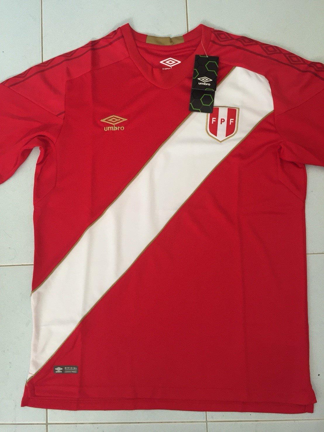 7361beaf7 Campionato Nuovo Peru Away maglia di calcio 2018 - 2019.