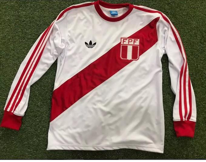 901c9f30f Peru Home camisa de futebol 1979.