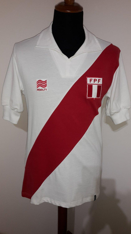 Peru World Cup 2020 Jersey.Peru Home Maglia Di Calcio 1982