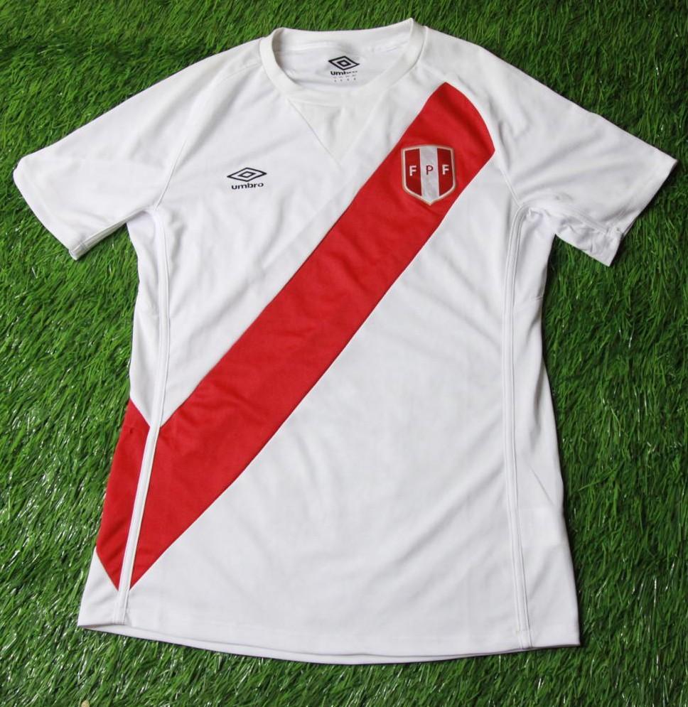 0f44837a5 Peru Home φανέλα ποδόσφαιρου 2014 - 2015.