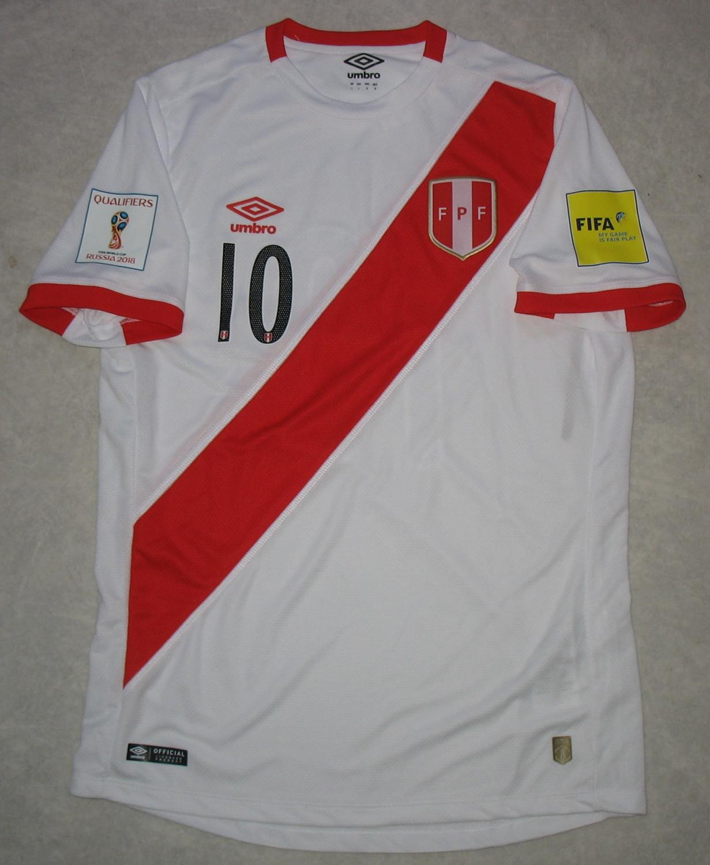 498eb7399d5 Peru Home Maillot de foot 2017.