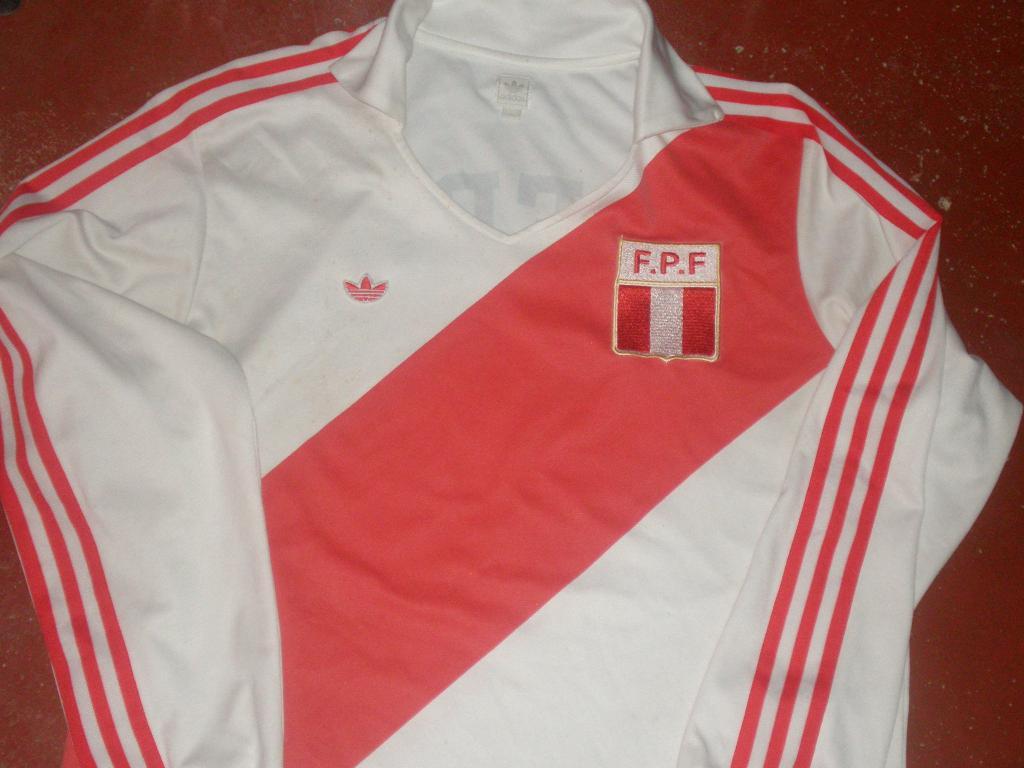 Peru Retro Replicas Maillot de foot 1978. 882d7fbaf