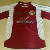 Salamanca Home Maillot de foot 2004