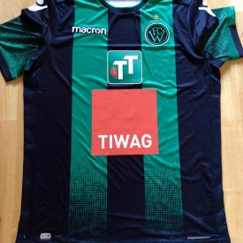 Wacker Innsbruck Home fotbollströja 2018 - 2019 sponsored by Tiwag