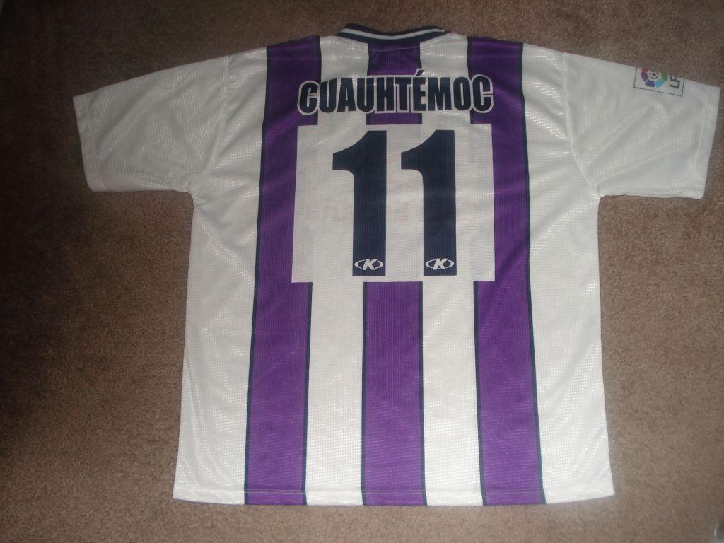 Real Valladolid Local Camiseta de Fútbol 1999 - 2001. Añadido 2008 ...