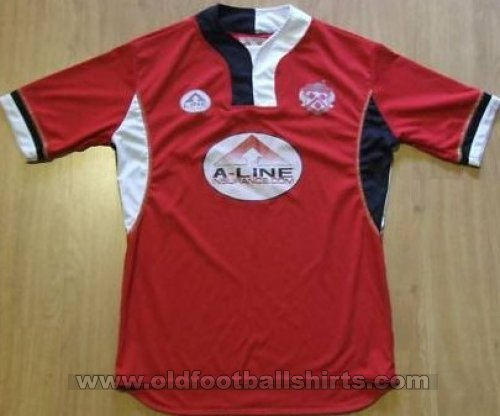 Kettering Town Home Fußball-Trikots 2005 - 2006