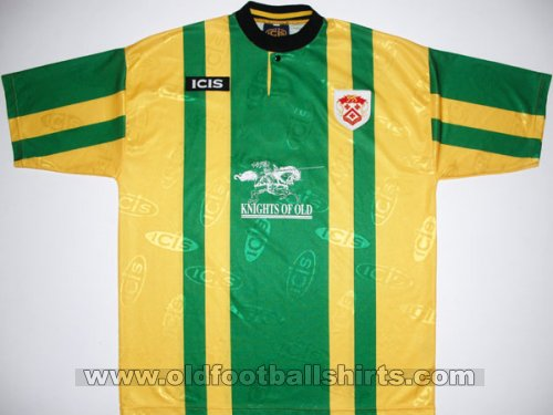 Kettering Town Away Fußball-Trikots 1998 - 1999