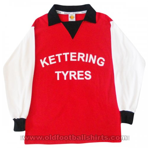 Kettering Town Home Fußball-Trikots 1975 - 1976