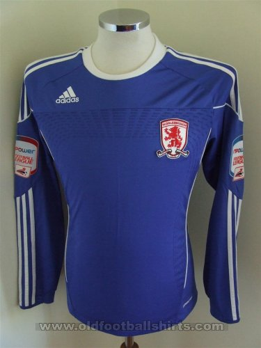 Middlesbrough Away football shirt 2010 - 2011
