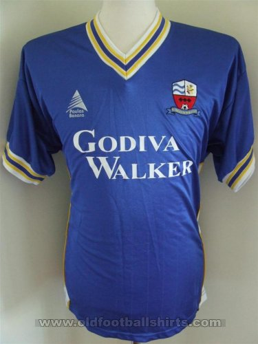Nuneaton Borough Home maglia di calcio (unknown year)
