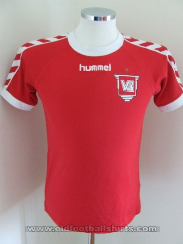 Vejle Boldklub Home voetbalshirt  (unknown year)