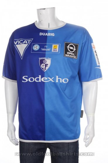 Grenoble Foot 38 Home Fußball-Trikots 2003 - 2004