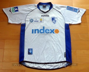 Grenoble Foot 38 Away voetbalshirt  2005 - 2006