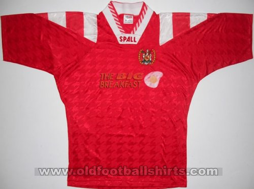 Workington Home футболка 1994 - 1996