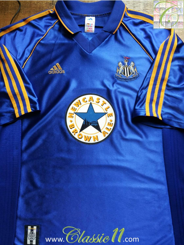 best website ca972 d655a Newcastle United Away football shirt 1998 - 1999. Sponsored ...