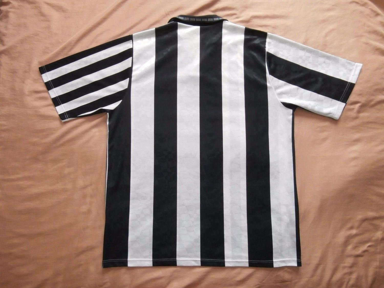 Newcastle United Home football shirt 1991 - 1992. Sponsored by no ...