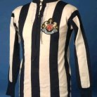 Newcastle United Copa Camiseta de Fútbol 1911 - ?