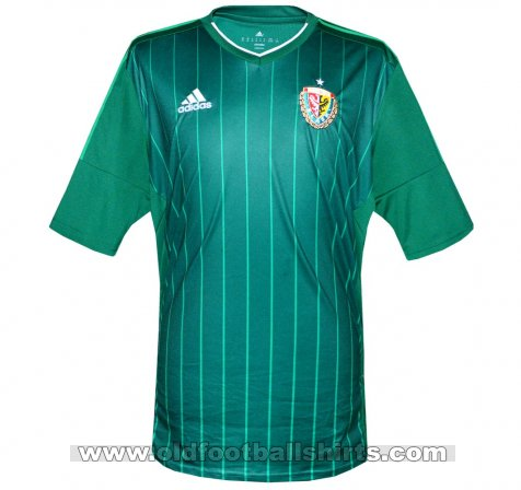 Slask Wroclaw Home football shirt 2014 - 2016
