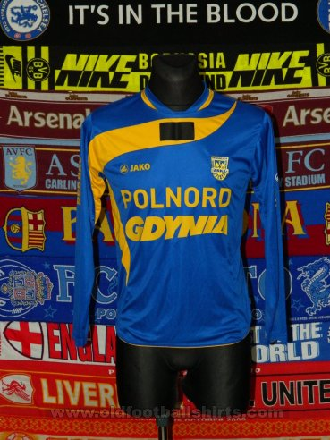 Arka Gdynia Home football shirt 2010 - 2011