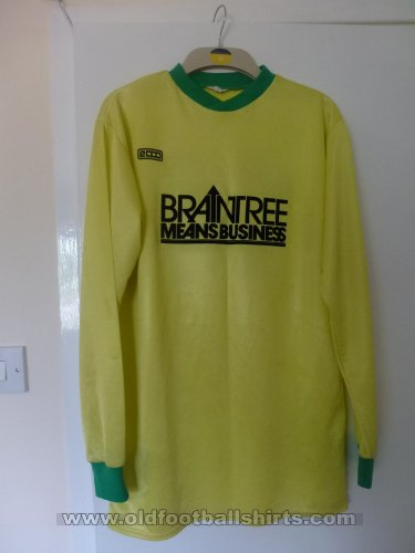 Braintree Town Special football shirt 1984 - 1985