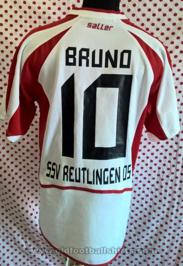 SSV Reutlingen 05 Away football shirt 2008 - 2009