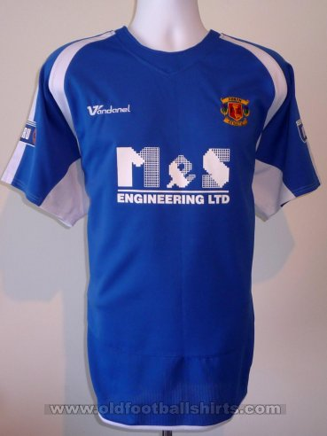 Annan Athletic  Away football shirt 2008 - 2011