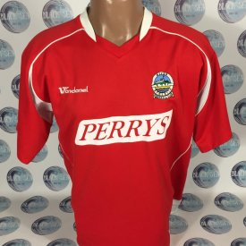 Dover Athletic Выездная футболка (unknown year) sponsored by Perrys