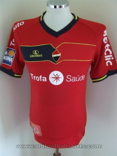 CD Trofense Home football shirt 2009 - 2010