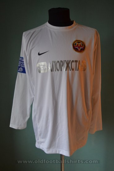 Metalurh Zaporizhya Away футболка 2010 - 2011