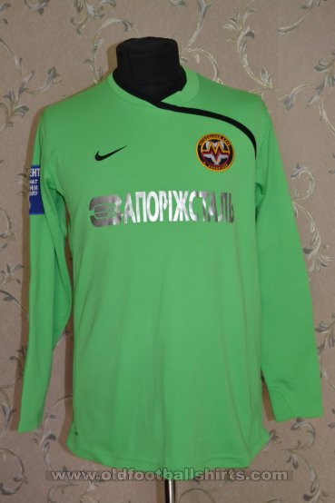 Metalurh Zaporizhya Goalkeeper футболка 2010 - 2011