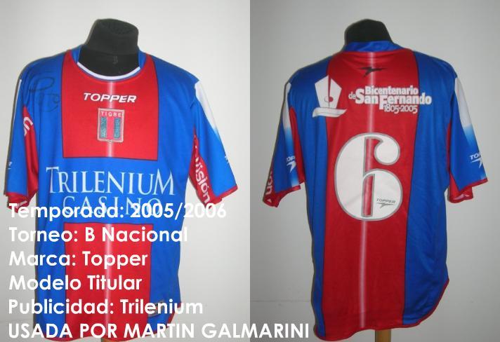 f44c22ad1c7 Tigre Home maglia di calcio 2005.