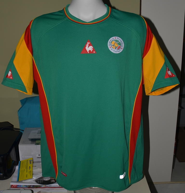 35deb84359f Senegal Away camisa de futebol 2004.
