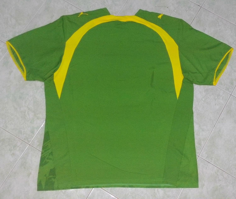 85d1014813a Senegal Away Maillot de foot 2006 - 2007.