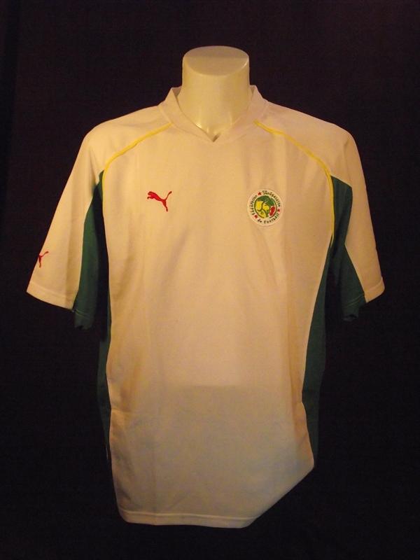6d8ec5b7238 Senegal Home voetbalshirt 2004 - 2005.