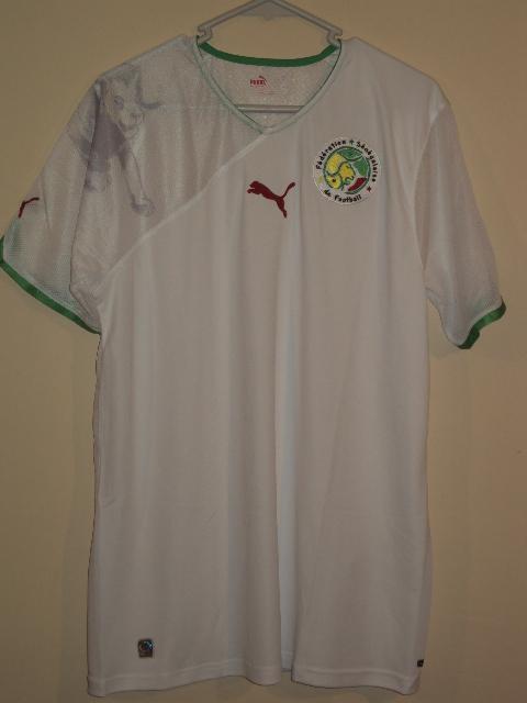 e0534d3eb Senegal Home Maillot de foot 2010 - 2012.