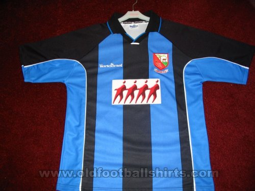 Hayes & Yeading United Away football shirt 2002 - 2005