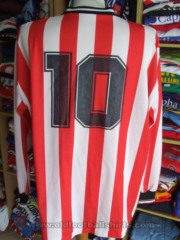 Hayes & Yeading United Home football shirt 2000 - 2001